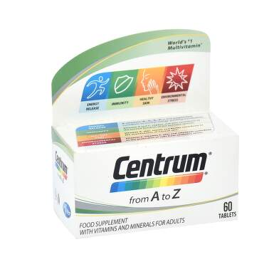 Centrum A-Z + lutein 60 tableta