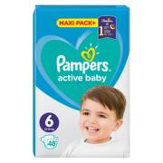 Pampers pelene active JPM 6 large 48 komada